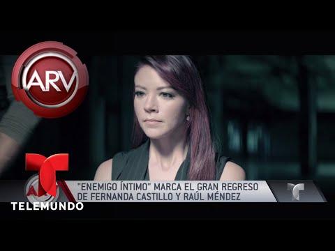 Fernanda Castillo protagoniza nueva serie Enemigo Íntimo | Al Rojo Vivo | Telemundo