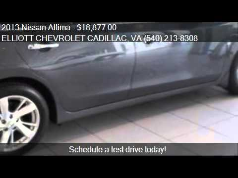 2013 Nissan Altima For Sale In Staunton, VA 24401 At The ELL. Elliott  Chevrolet Cadillac