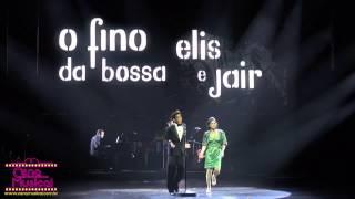 Elis, A Musical  - Elis e Jair na cena