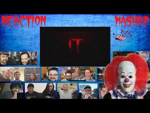 IT 2017 Trailer Teaser Reaction Mashup