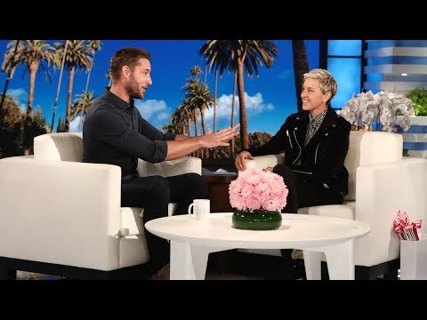 Ellen Recruits tWitch as Justin Hartley's Wedding Choreographer
