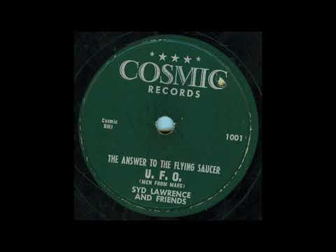 Syd Lawrence - Answer To The Flying Saucer 78 rpm!
