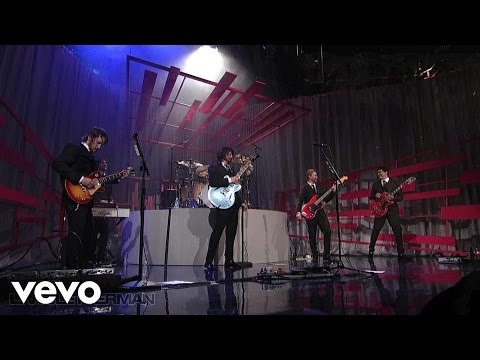 Foo Fighters - Cold Day In The Sun (Live on Letterman)