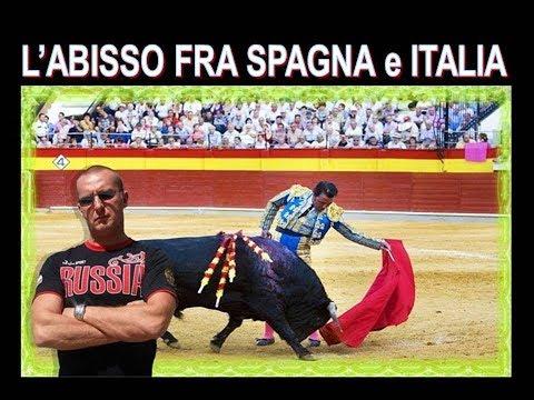 L'Abisso fra Spagna e Italia , ormai siamo indietro a loro  di 20 anni !!!