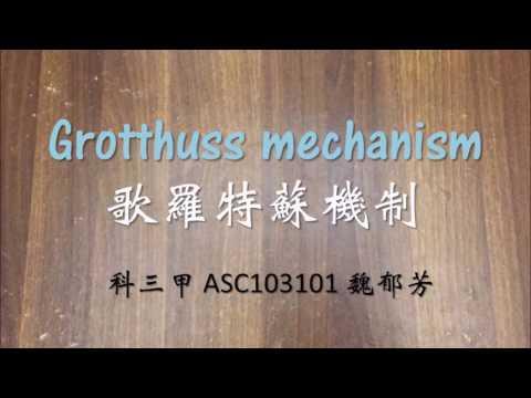 物化實作影片 Grotthuss mechanism