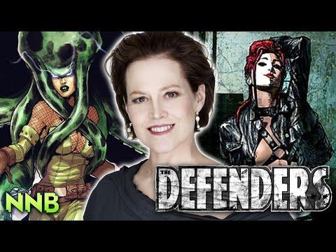 Defenders Sigourney Weaver VILLAIN Announcement! (PLUS NYCC NEWS!)