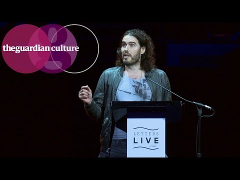 Russell Brand reads Che Guevara letter: 'grow up as good revolutionaries'