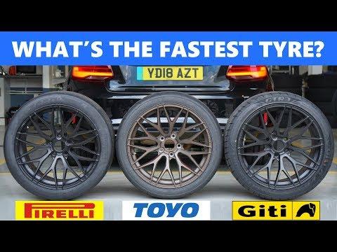 Pirelli P Zero Trofeo R vs Toyo R888 vs Giti Sport GTR3. What's the best track day tyre?