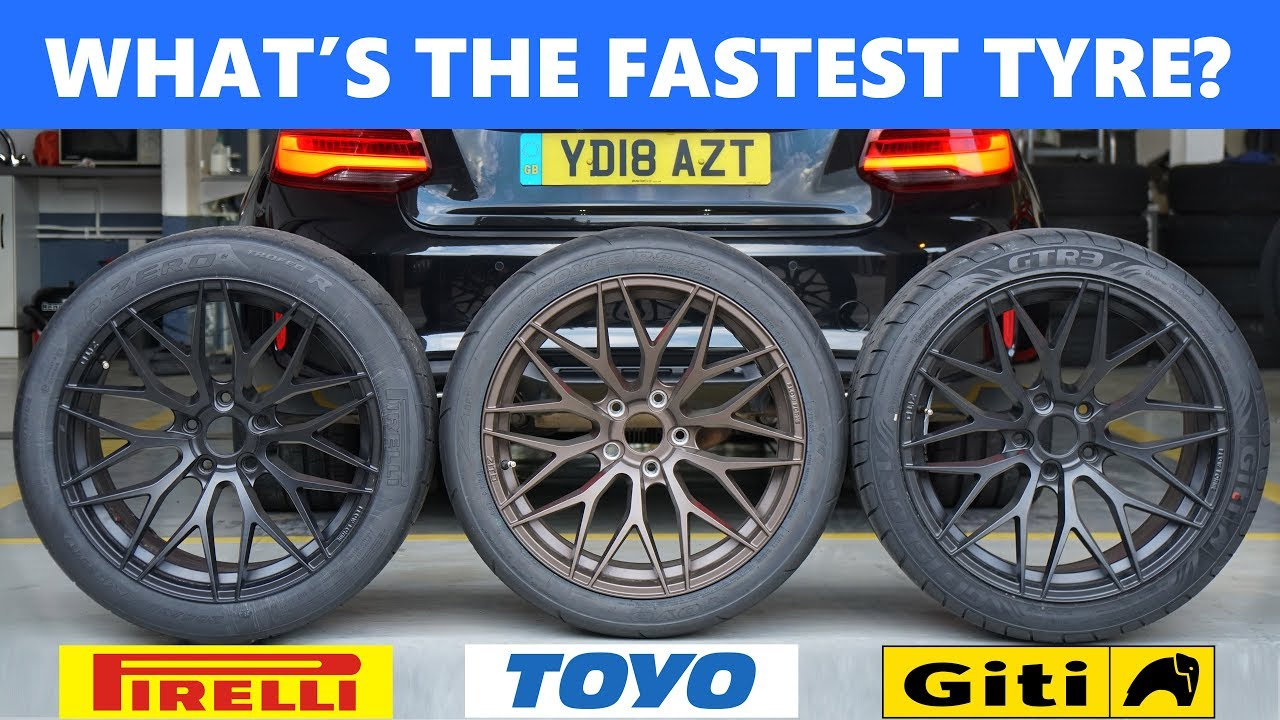 Pirelli P Zero Trofeo R vs Toyo R888 vs Giti Sport GTR3  What's the best  track day tyre?