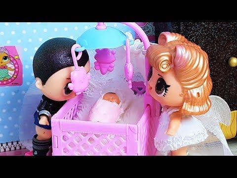 МАЛЫШ РОДИЛСЯ!!! КУКЛЫ ЛОЛ СЮРПРИЗ LOL SURPRISE Мультики с куклами видео куклы лол