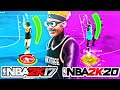 USING MY NBA 2K17 JUMPSHOT 1,347 DAYS LATER ON NBA 2K20 & I CAN'T MISS!