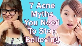 7 Acne Myths You Need To Stop Believing