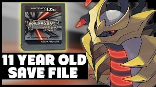 Exploring my 11 YEAR OLD Pokemon Platinum Japanese Save File! - PokeTips