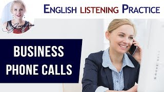 #045 How to make a business telephone call in English?