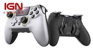 This Officially Licensed PS4 Controller Offers Xbox Elite Features - IGN News