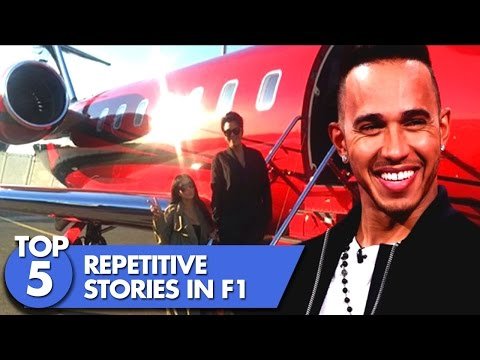 Top 5 Repetitive F1 Stories