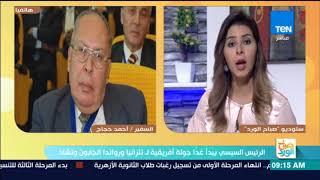 السفير أحمد حجاج: سد النهضة لن ينقص حصة مصر من النيل والعلاقات التجارية على رأس جولة السيسي لإفريقيا