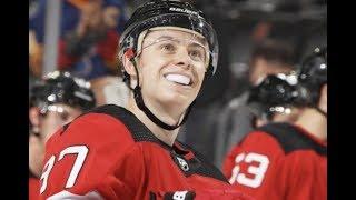 Никита Гусев ставит на уши Америку / Его интервью в Нью-Джерси / Новая звезда НХЛ