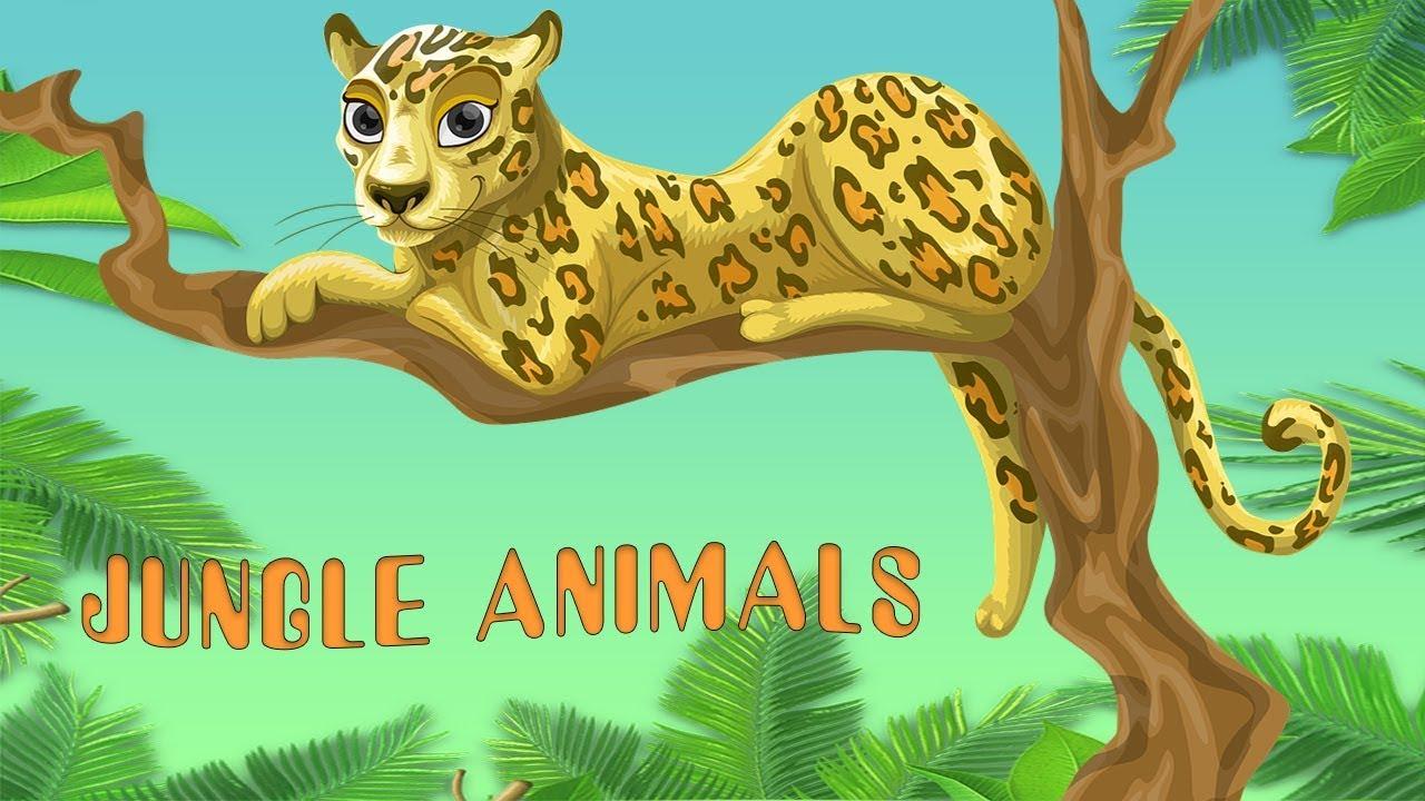 Animal Sounds for Children (30 Amazing Animals) - JUNGLE ANIMALS