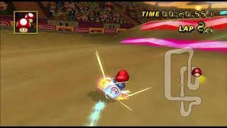 [Mario Kart Wii 300cc TAS] Waluigi Stadium 59.658