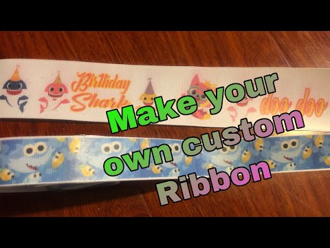 How To: Make Your Own Custom Ribbon