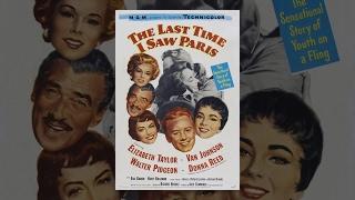 Последний раз когда я видел Париж 1954 фильм