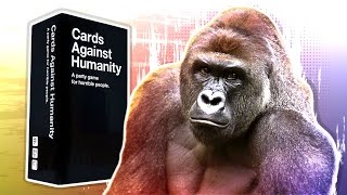 HARAMBE HOT SAUCE! - Cards Against Humanity Online! (Funny Moments)