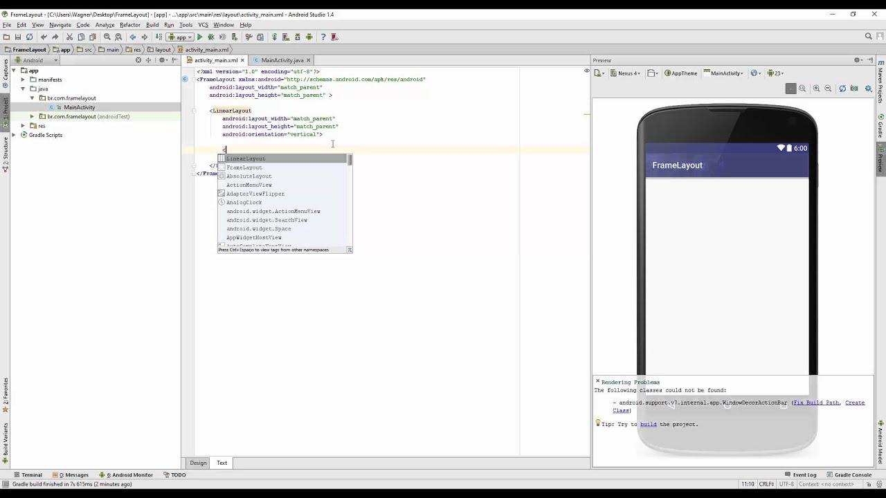 Como usar o FrameLayout do Android - YouTube