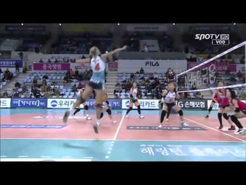 Sarah Pavan KOVO 2014/15 [Round 2] Highlights