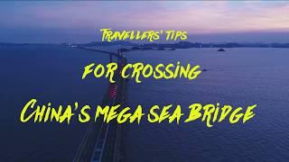 Travellers' tips for crossing China's mega sea bridge