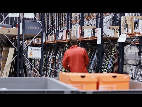 E-commerce logistics distribution centre   Mecalux UK