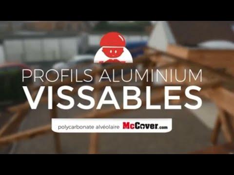 tutoriel de montage d une couverture en polycarbonate alveolaire 10 16 32 mm sur profile vissable