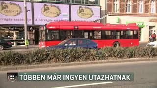 Többen már ingyen tömegközlekedhetnek 20-01-02
