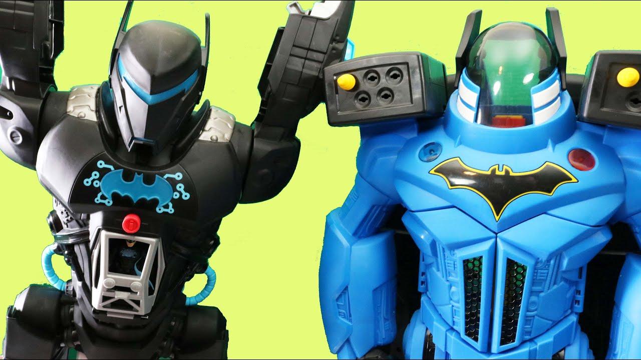 Download Imaginext Batman Bat-Tech Batbot Vs. Batbot Xtreme
