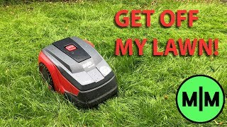 Lawn Mower - Installing a Lawn Mower Robot (My journey to the perfet lawn.)