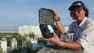 DJI Spark - Mở hộp bản rời và bay thử - Cảm nhận về Gimbal chống rung 2 trục