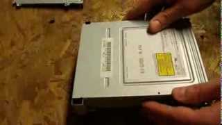 How to replace an xbox 360 dvd drive - SAMSUNG disc drive replacement tutorial