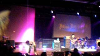 The Japanese rock band High and Mighty Color performing live at Sak...
