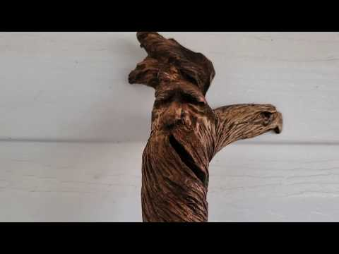Carving A Walking Stick