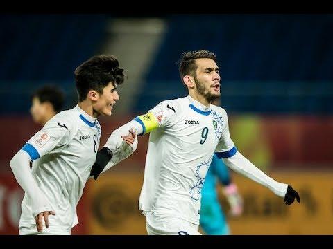 Video: U23 Uzbekistan vs U23 Hàn Quốc