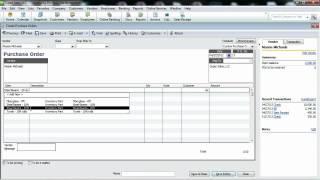 Handling Prepaid inventory  in Quickbooks Pro 2012 or 2013