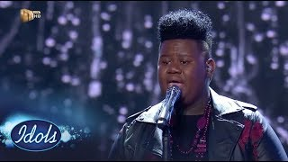 Top 6 Reveal: King B - 'Make You Feel My Love' – Idols SA | Mzansi Magic