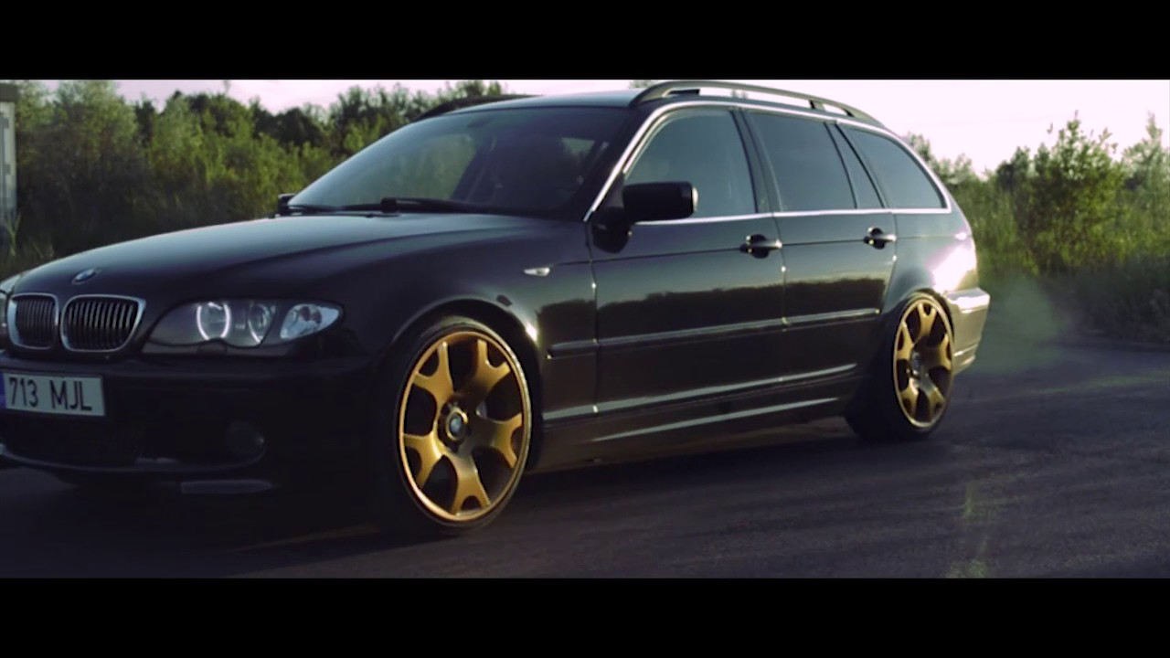 bmw 330d the golden one stanced e46 touring youtube. Black Bedroom Furniture Sets. Home Design Ideas