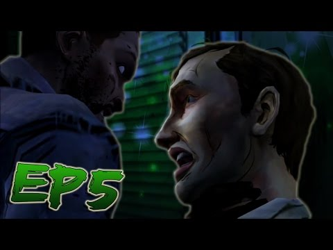 """""""Lee The Asshole"""" (Kenny's BestFriend) - The Walking Dead Game Ep 5"""