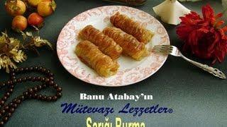 Sarığı Burma Tatlısı (Yemek Tarifleri)