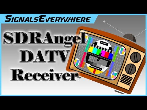 Decoding DVB-S DATV on Windows with SDRAngel | Works with RTL HackRF Pluto Lime and other SDR
