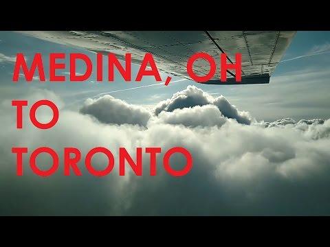 Medina, OH to Toronto in a Cessna Centurion C210