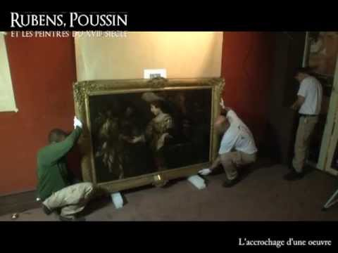 making of de l 39 exposition rubens poussin mus e jacquemart andr youtube. Black Bedroom Furniture Sets. Home Design Ideas