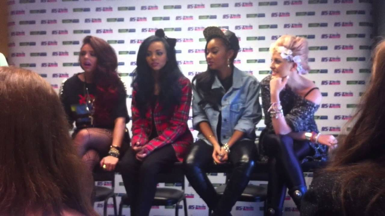 Little Mix Qa 957 The Vibe Meet And Greet Youtube