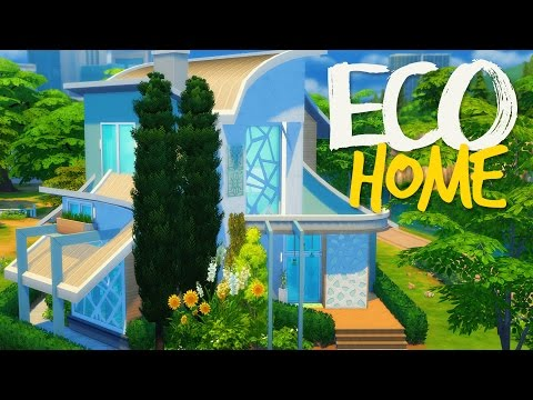 The Sims 4 | House Building - Eco Home